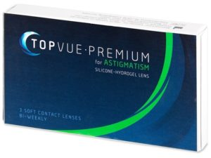 Contact lenses TopVue Premium for Astigmatism
