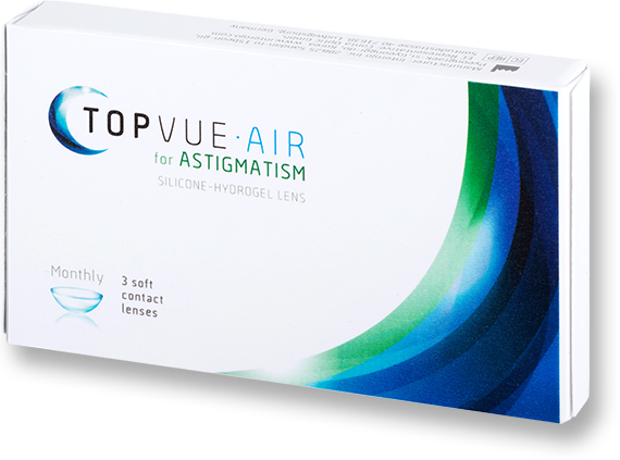 Example Packaging - TopVue Air for Astigmatism