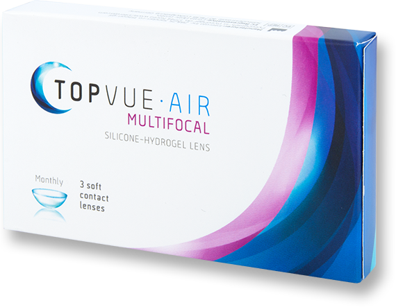 Example Packaging - TopVue Multifocal