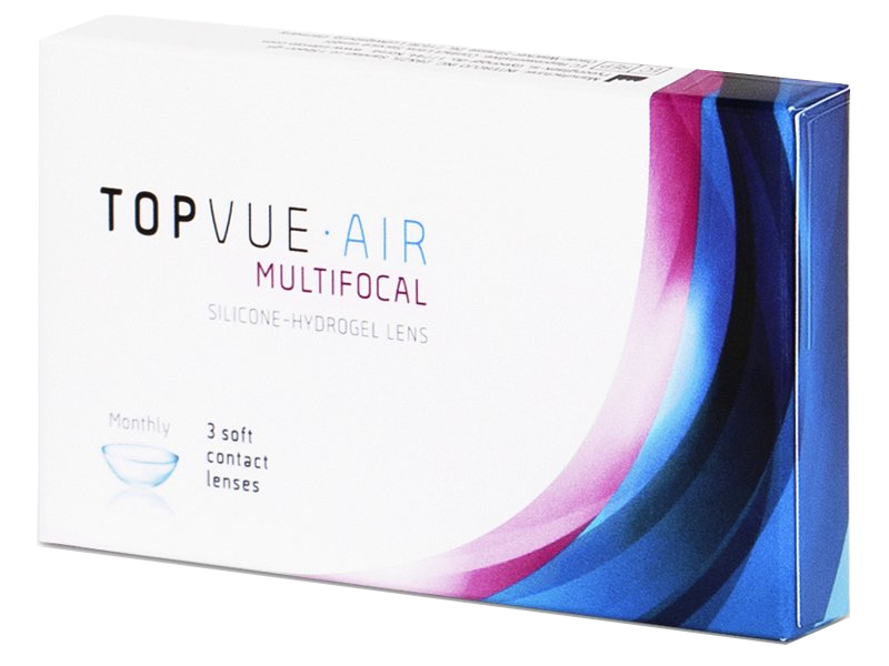 Primer pakiranja - TopVue Air Multifocal