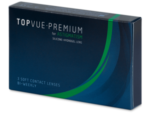 Example packaging - TopVue Premium for Astigmatism